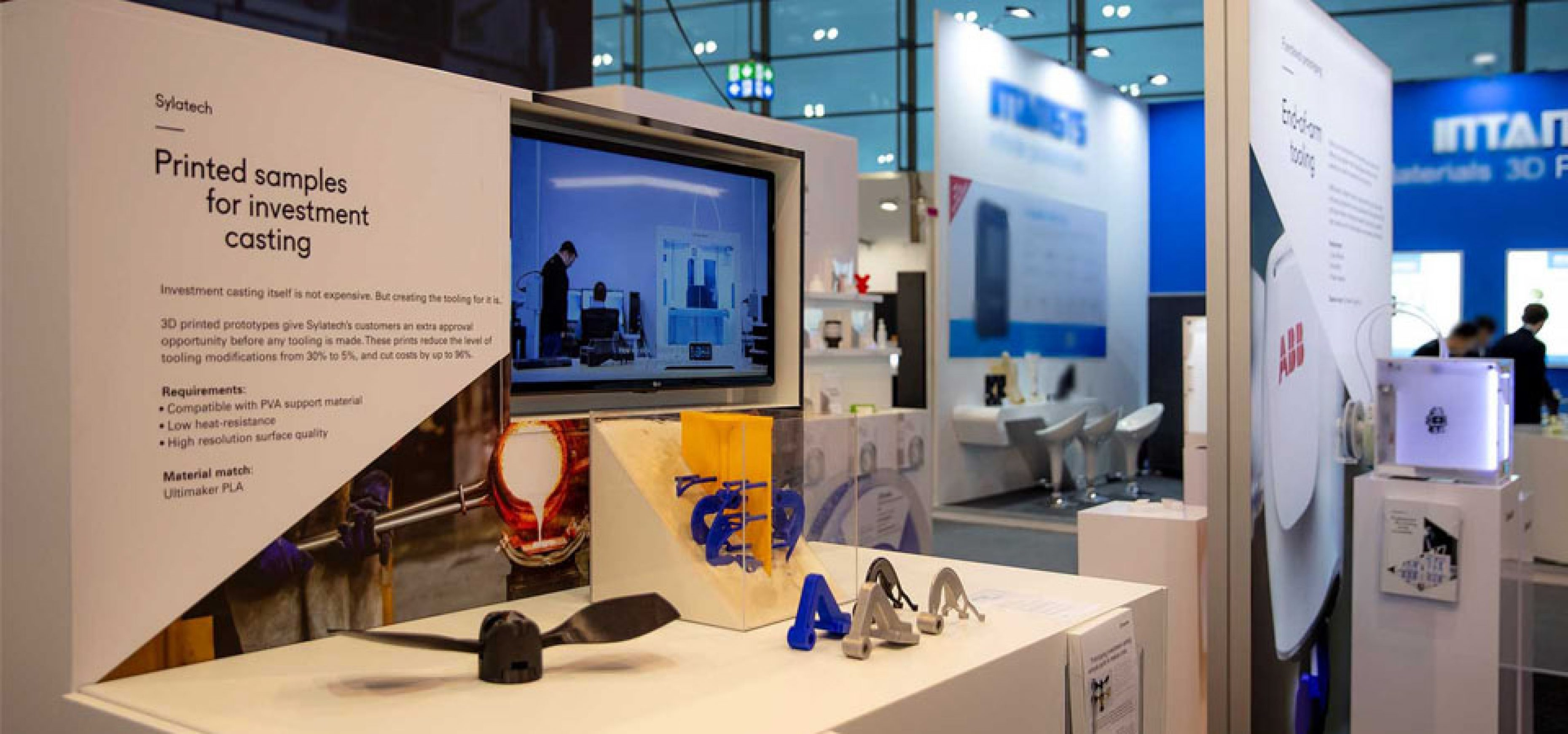 Sylatech and Ultimaker at Formnext2018